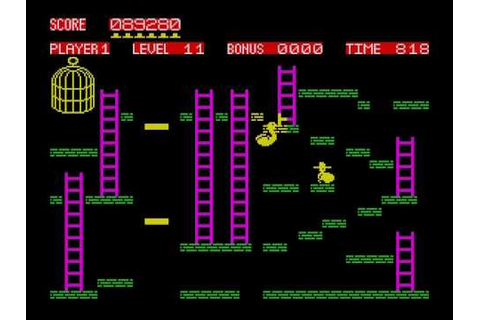 Chuckie Egg (2 of 5) on ZX Spectrum - YouTube