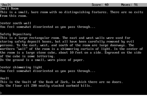 Zork II: The Wizard of Frobozz Screenshots for DOS - MobyGames