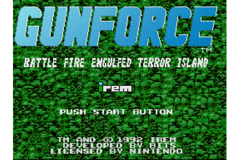 GunForce Download Game | GameFabrique