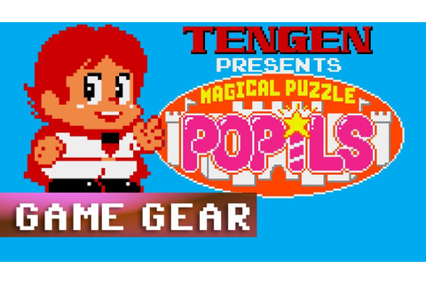[Longplay] Magical Puzzle Popils - Sega Game Gear - YouTube