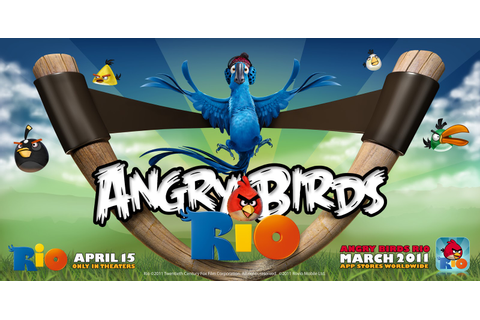 GAMES AND SOFTWARE: ANGRY BIRDS:RIO FREE DOWNLOAD FOR PC