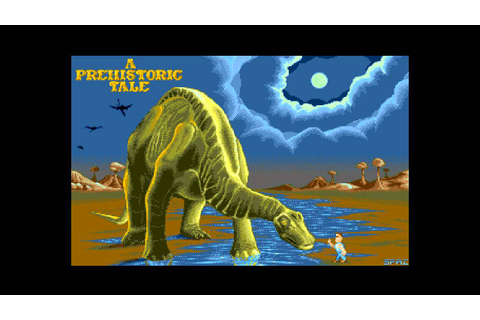 Amiga music: A Prehistoric Tale (in-game 1) - YouTube