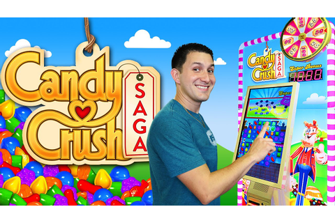 Candy Crush SAGA - Arcade Ticket Game - YouTube