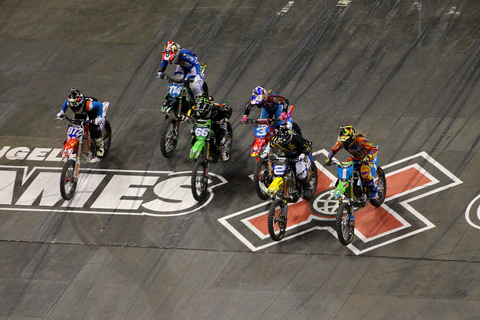 Out of the gate - X Games 2012: Women's Moto X Racing ...
