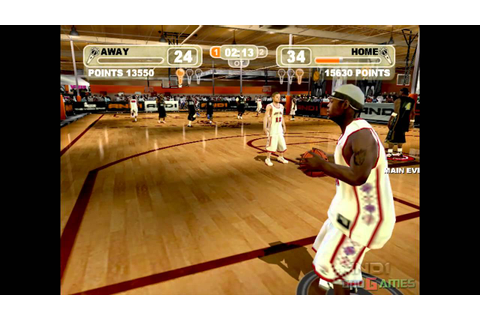 AND 1 Streetball - Gameplay Xbox HD 720P (Xbox to Xbox 360 ...