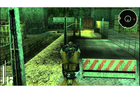 Metal Gear Solid Portable Ops Gameplay 1080P - YouTube