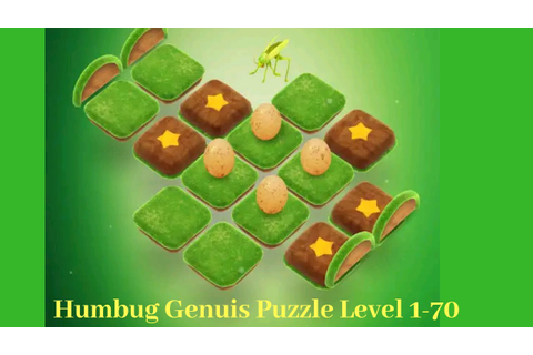 Humbug - Genius puzzle - Game play Level 1 - 70 || how to ...