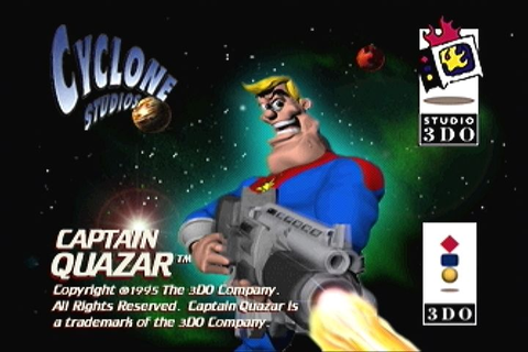 Captain Quazar Screenshots for 3DO - MobyGames