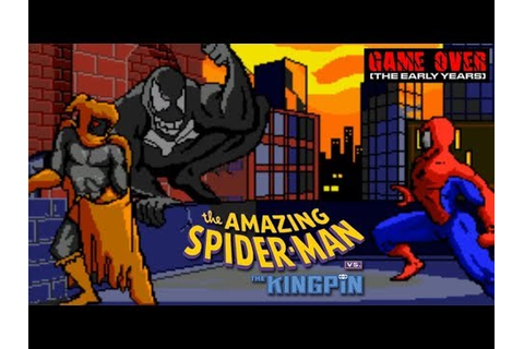 Game Over: The Amazing Spider-Man vs. The Kingpin (Sega CD ...