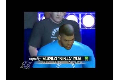 Pride FC: Fighting Championships PlayStation 2 - YouTube