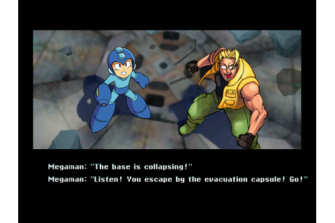 Ending for Cannon Spike-Megaman, Charlie Team(Sega Dreamcast)