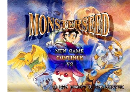 Monster Seed PS1 - Download Game PS1 PSP Roms Isos ...