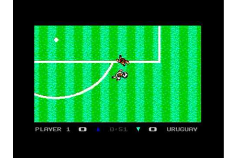 C64 - Microprose Soccer - YouTube