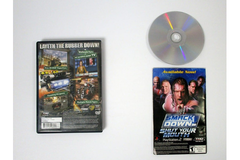 WWE Crush Hour game for Playstation 2 (Complete) | The ...