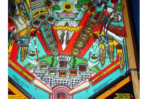 EARTH SHAKER PINBALL by WILLIAMS at www.pinballrebel.com