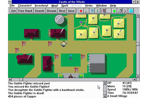 Castle of the Winds Part1&2 (Windows 3.11) | ClassicReload.com