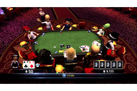 World Series Of Poker - Full House Pro Xbox 360 - Online ...