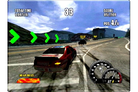 Burnout 2 Point of Impact Sony Playstation 2 Game