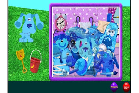 Blue's Clues #112 : Jigsaw Puzzles (Windows game 1998 ...