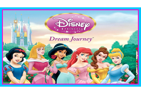 Disney Princess Game for Kids - The Princess Journey - YouTube