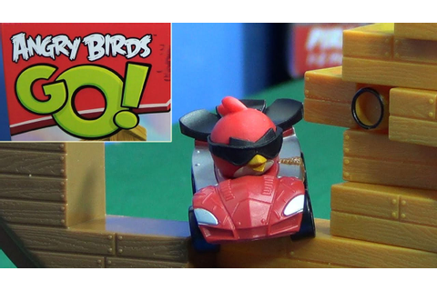 Angry Birds Go! Pirate Pig Attack Game Jenga Red Bird ...
