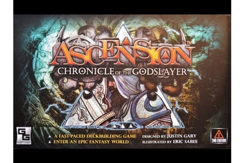Ascension: Chronicle of the Godslayer review - Board Game ...