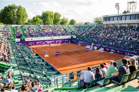 Bucharest Open Tennis Tournament Arena Editorial Photo ...