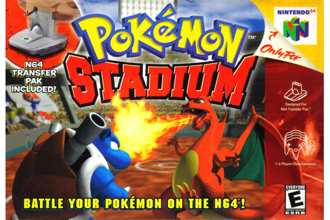 Pokemon Stadium Nintendo 64 Game