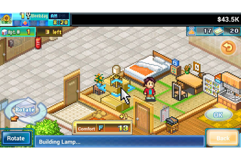 Dream House Days (by Kairosoft) HD Gameplay Trailer ...