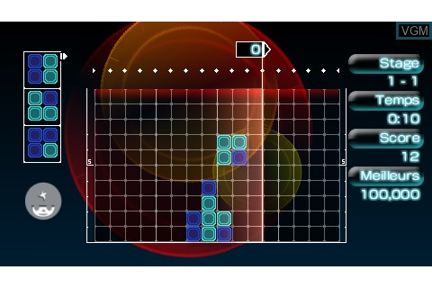 Lumines II for Sony PSP - The Video Games Museum