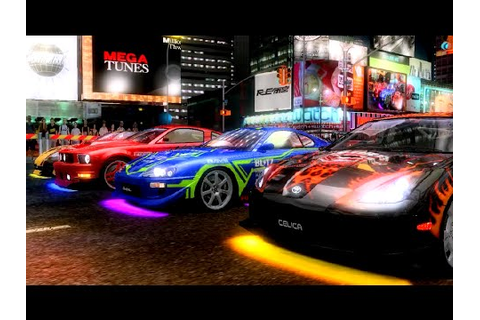R-Tuned: Ultimate Street Racing (2008) ALL CITIES (60 FPS ...