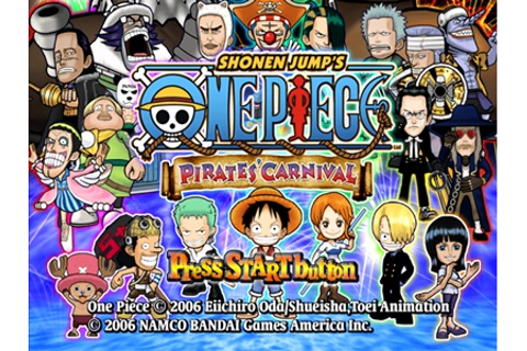 One Piece Pirates Carnival PS2 ISO - Download Game PS1 PSP ...