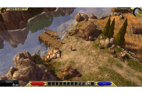 Titan Quest game speed comparison - Immortal Throne and ...