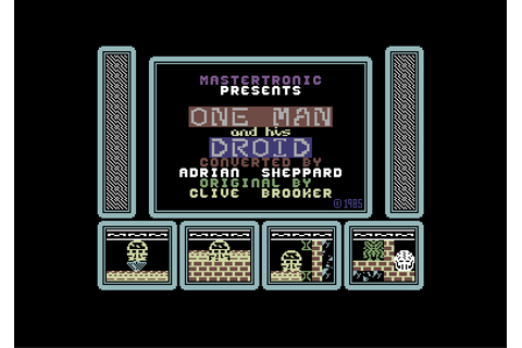Download One Man and His Droid - My Abandonware