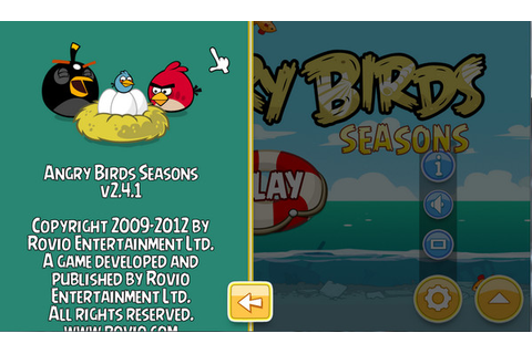 DOWNLOAD GAME ANGRY BIRDS SEASONS 2.4.1 | Free Download 21