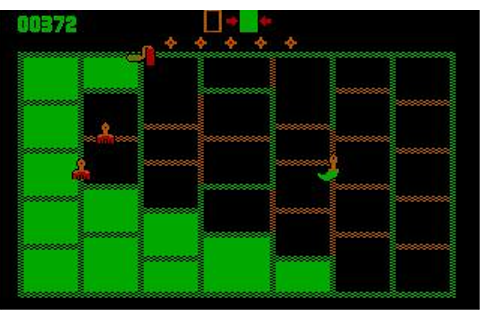 Rollo and the Brush Bros. Download (1984 Arcade action Game)