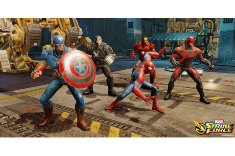 Free-to-play action game Marvel Strike Force launches on ...