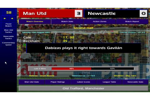Championship Manager: Season 00/01 Download - Old Games ...