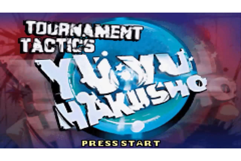 Let's Play Yu Yu Hakusho: Tournament Tactics (pt 1) - YouTube
