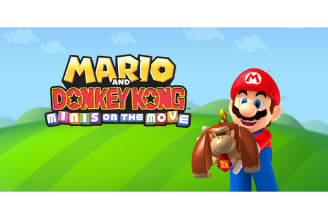 Mario and Donkey Kong: Minis on the Move | Nintendo 3DS ...