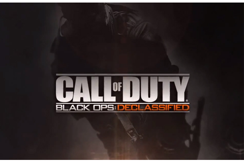 Call of Duty Black Ops: Declassified para o Vita será ...