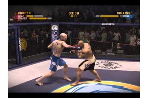 EA Sports MMA Game KO Highlight Montage - YouTube