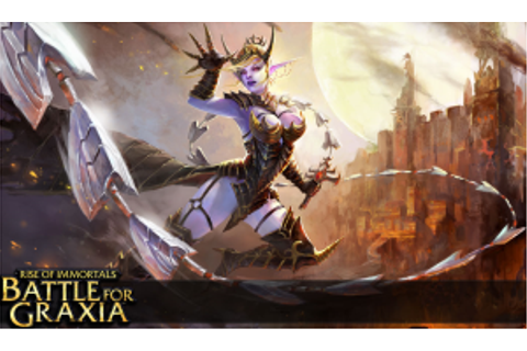 New MOBA Game: Battle for Graxia