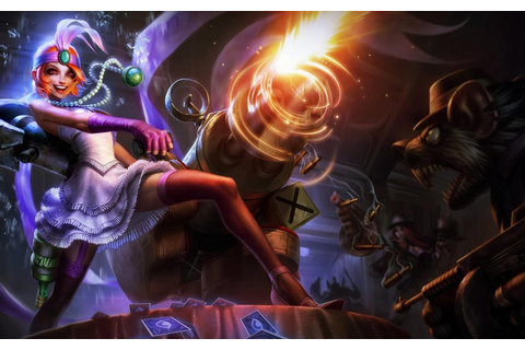 League of Legends-Mafia Jinx-power-of-Arms video game-Skin ...