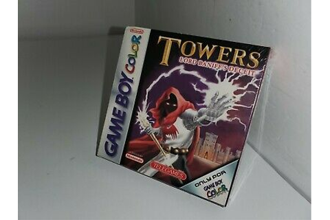 NEW MINT TOWERS LORD BANIFF'S DECEIT for Gameboy Color UK ...
