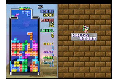 Nay's Game Reviews: PS1 Puzzle Game Double Header: Tetris ...