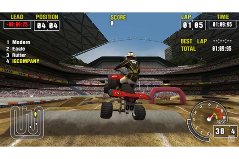 ATV Offroad Fury Pro PSP Gameplay HD - YouTube