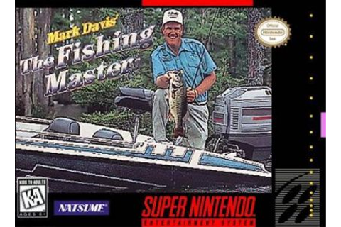 Mark Davis' The Fishing Master (SNES) on Collectorz.com ...