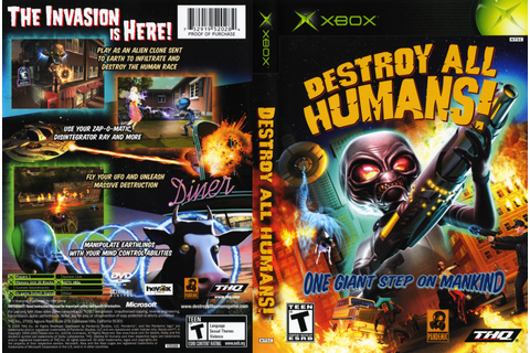 Destroy all humans video game : nostalgia
