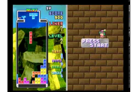 Tetris Plus (PSX/PS1, 1996) - YouTube